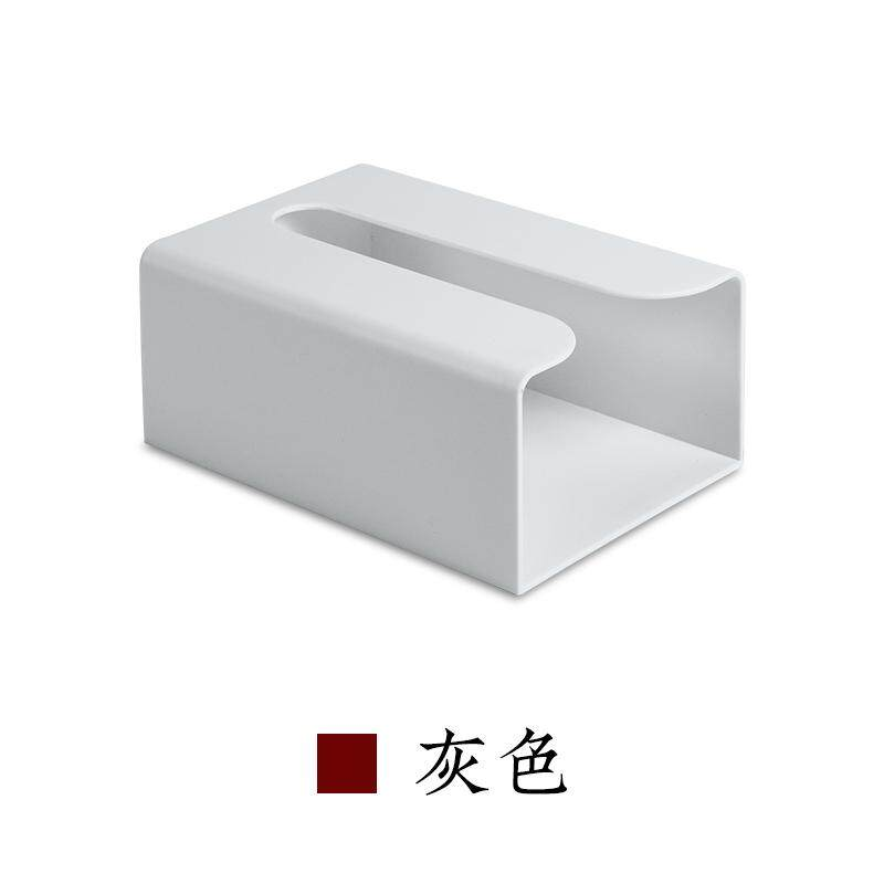 Bathroom Tissue Box Toilet Paper Rack-Free Punched Toilet Paper Box Kitchen Upside down Tissue Box Household Paper Extraction Box
