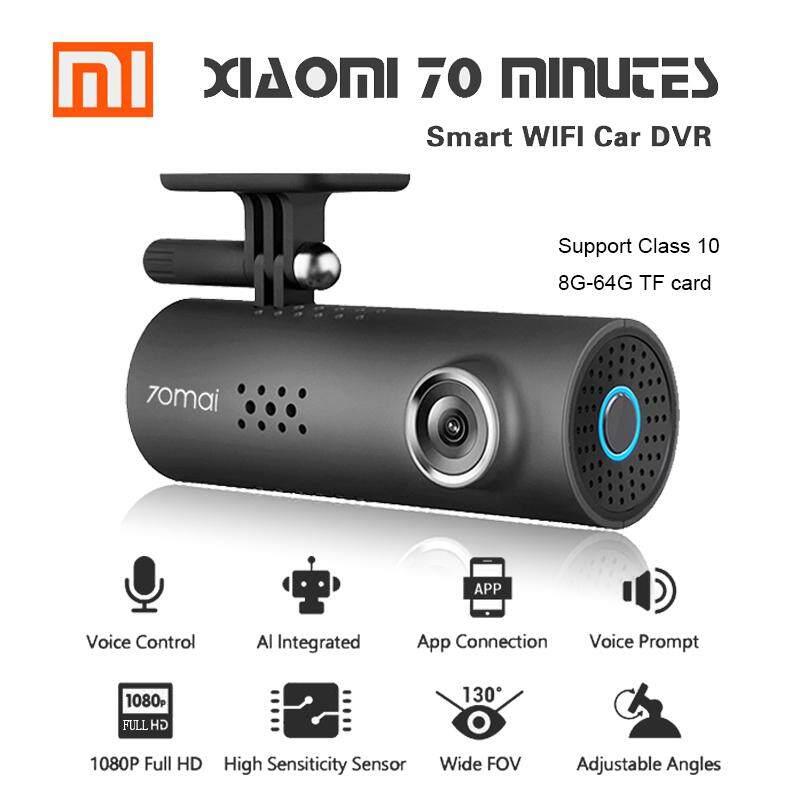 Xiaomi 70mai Dash Cam *สินค้าพร้อมส่ง* English Car Camera กล้องติดรถยนต์ พร้อม WIFI มุมมองกล้อง 130
