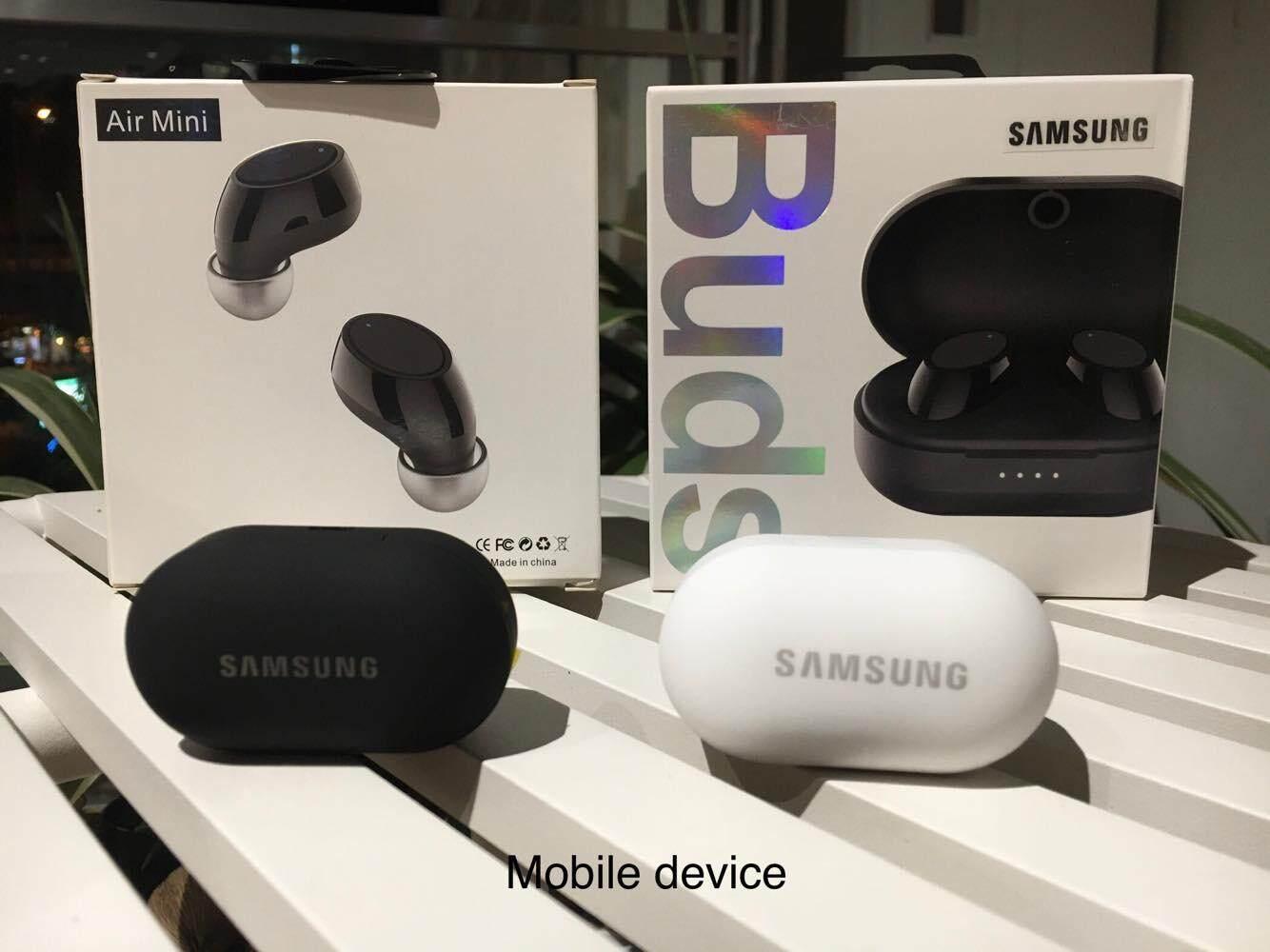 หูฟังไร้สาย Samsung Air Mini V.5 ใหม่ มาพร้อมตลับชาร์ท ขนาดเล็ก พกพาสะดวก เบสหนัก.
