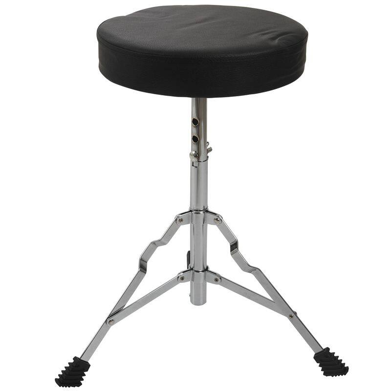 Adjustable Tripod Children Padded Stool Stand Chair for Guitar Piano Drum Playing