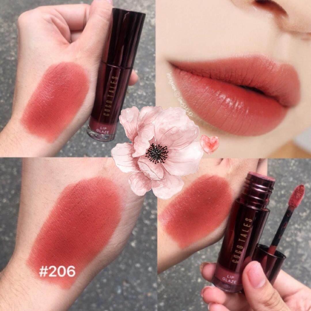 Lips Gogotales สีแดงเบอร์กันดี้ แซ่บแพง ต้องสีนี้ เนื้อเวลเทล เกลี่ยง่ายมไม่หนักปาก