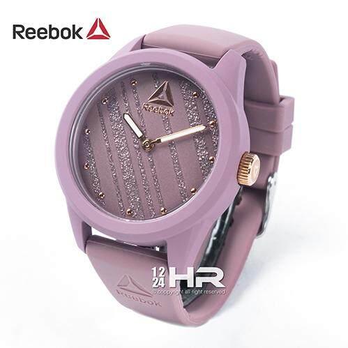 Reebok Rd-Spr-L2 นาฬิกาผู้หญิง สายซิลิโคน ของแท้ ประกันศูนย์ฯ 1 ปี.