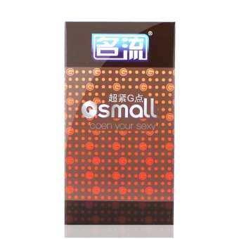 ถุงยางอนามัย สำหรับคนไซส์เล็ก 45mm 10ชิ้น/กล่อง *ไม่ระบุชื่อสินค้าหน้ากล่อง.