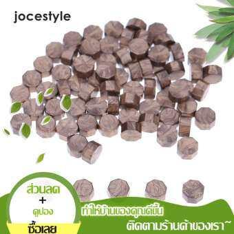 jocestyle 100 ชิ้น/ถุงมีสีสันล็อตวินเทจซีลขี้ผึ้งแท็บเล็ตยาลูกปัดสำหรับซองขี้ผึ้งซีล