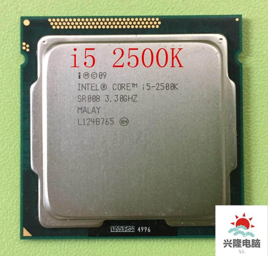 Original i5 2500K Processor Quad-Core 3.3GHz LGA 1155 TDP:95W 6MB Cache With HD Graphics i5-2500k Desktop CPU LLT Store