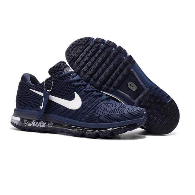 2019 Mới Chính Hãng Mới Nike_Air_Max_2017 Nam Chạy Bộ Đầy Đủ Lòng Bàn Tay Lót Đệm Không Khí Thể Thao Nam Sneaker Sale Giảm Giá Cổ Giày Giày Thể Thao giá rẻ