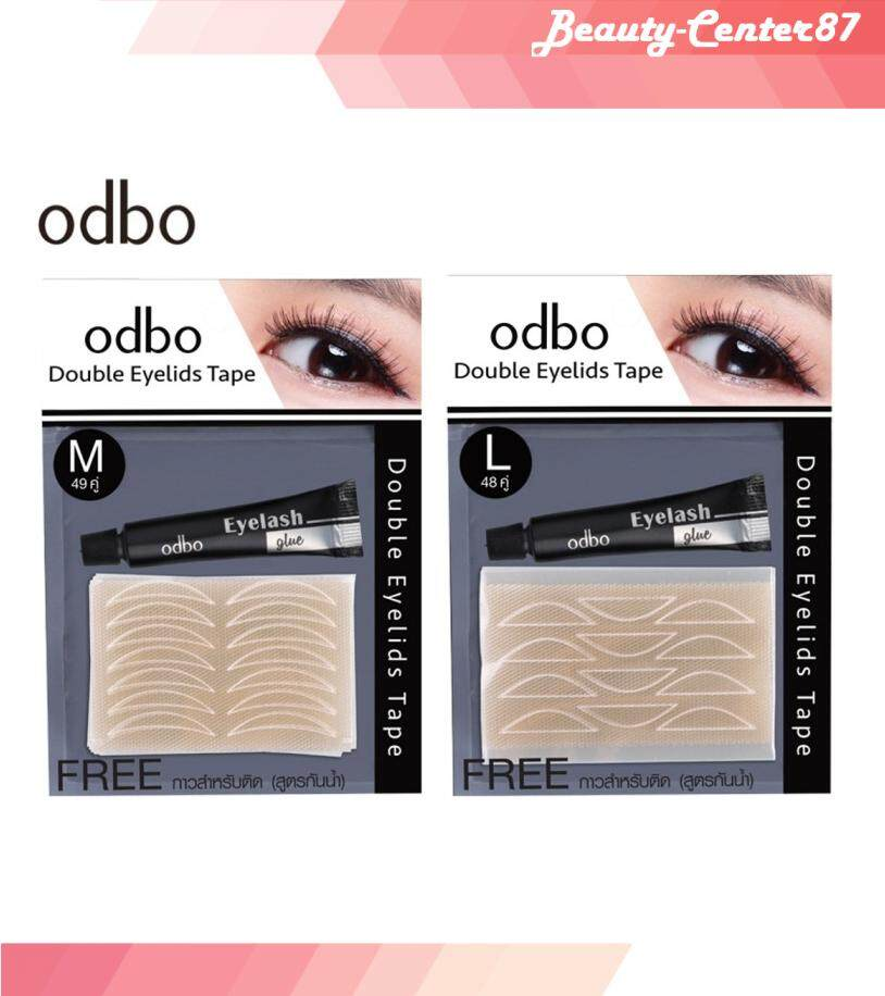 Odbo double eyelids tape ตาข่ายติดตา 2 ชั้น โอดีบีโอ x 1 ชิ้น