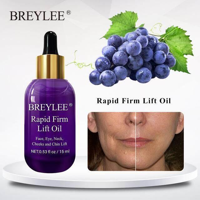 BREYLEE เซรั่มบำรุงผิว เซรั่มลดเลือนริ้วรอย ยกกระชับผิว เซรั่มนวดผิว Essential Oils Skin Care Rapid Firming Lifting Face Essence Oil Massage Anti Wrinkle Anti-Aging Powerful V Shape Facial