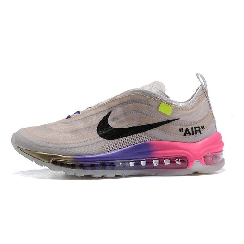 2019 Nike_ Air Max_ 97 UL '17 Off white women's Running Shoes Sport Outdoor Sneakers