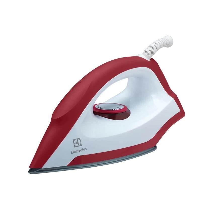 ELECTROLUX เตารีดแห้ง รุ่น EDI1004 (สีขาว-แดง)