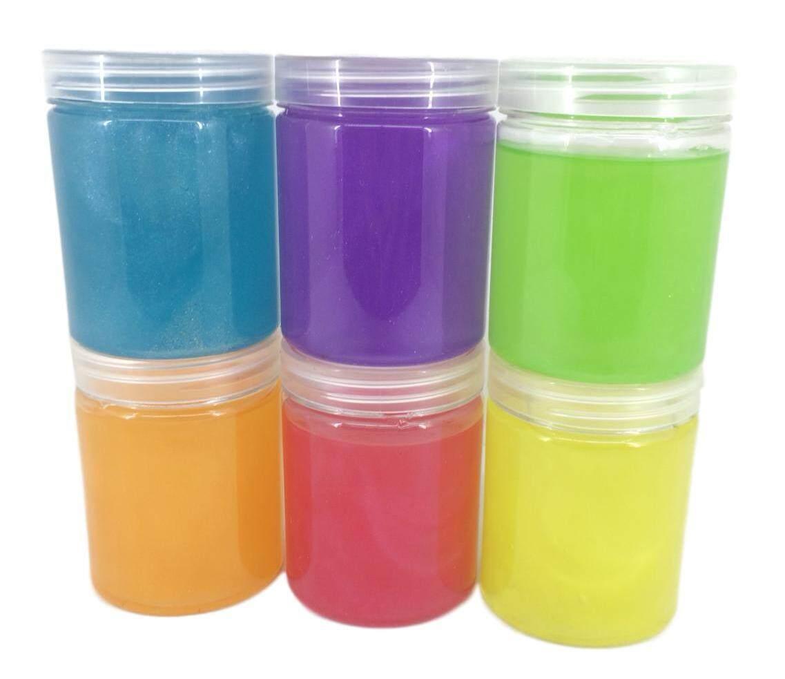 Slime Glittered Scented Fragrance Crystal Non Sticky Mud 140ml ไม่เหนียว Slime แวววาว กลิ่นหอม 140 มล. By Babypicks.