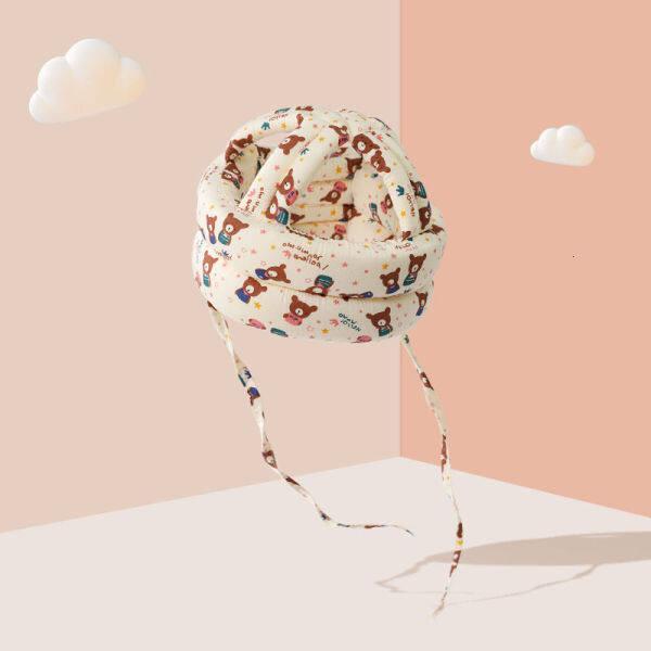 Giá bán Mỹ Kissbaby Bé Chống Rơi Đầu Lót Bảo Vệ Cho Bé Tập Đi Mũ Bảo Hiểm Trẻ Em Chống Va Chạm Đầu Nắp Bảo Vệ Hiện Vật JJES