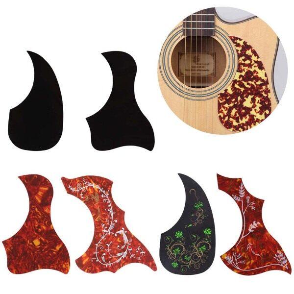 LIJU78113 Accessories Self-adhesive Top Quality Comma Shape Guitar Pickguard Folk Acoustic Pick Guard Scratch Plate Malaysia