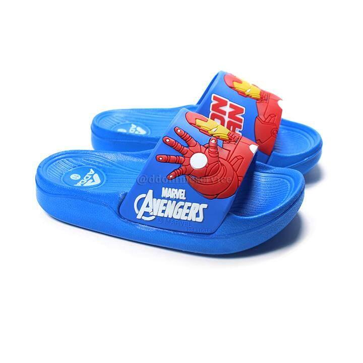Adda รองเท้าแตะเด็กผู้ชาย Adda 32b38 ลาย Ironman ราคาถูกมากๆ !! By Ddonline.