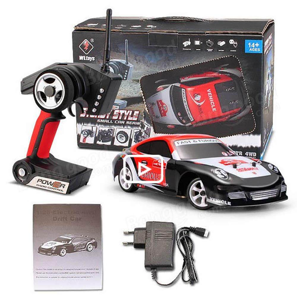 ZJ Wltoys K989 1/28 2 4G 4WD Brushed RC Remote Control Rally