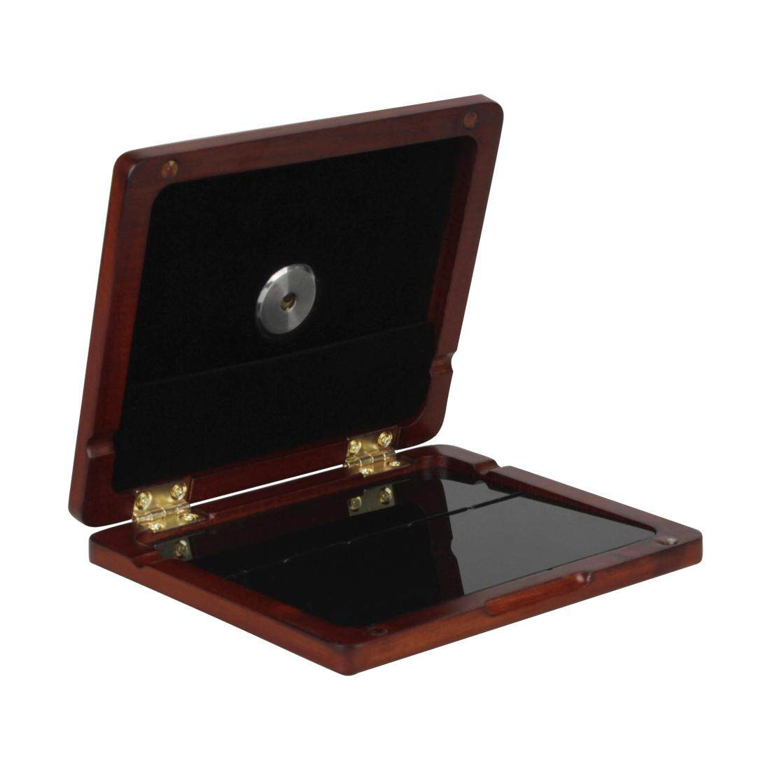 Wangwang Wood Oboe Reed Box 5 Reeds Accommodate With Hygrometer For Reed Storage By Wangwang Store.