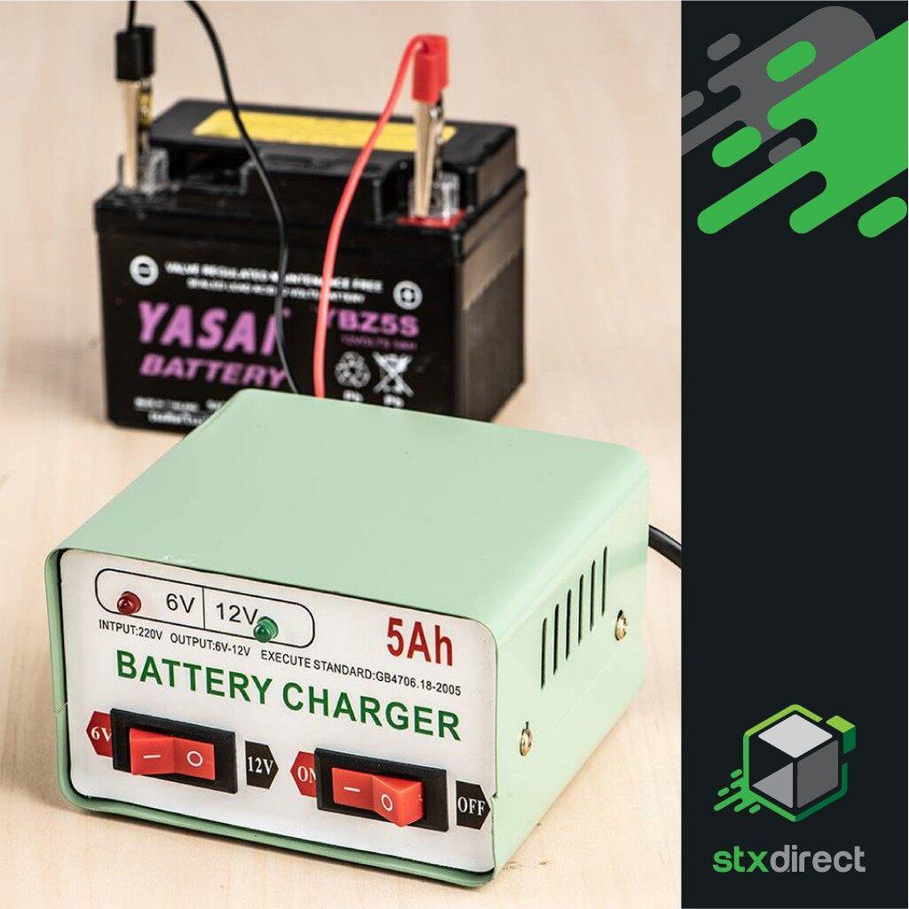 เครื่องชาร์จแบตเตอรี่รถมอเตอร์ไซค์ เครื่องชาร์จอัจฉริยะและซ่อมแบตเตอรี่ Motorbike Battery Charger.