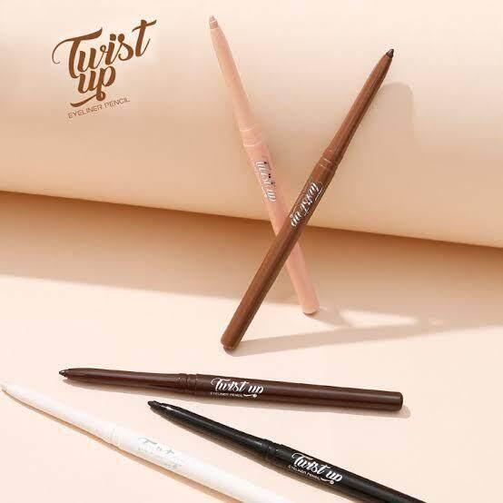 New!! Color  Twist Up Eyeliner Pencil  ดินสอเขียนขอบตา ที่มาพร้อมกับ 2 เฉดสีใหม่! เนื้อนุ่มเขียนง่าย ได้ลุคธรรมชาติ 99.-บาท!.