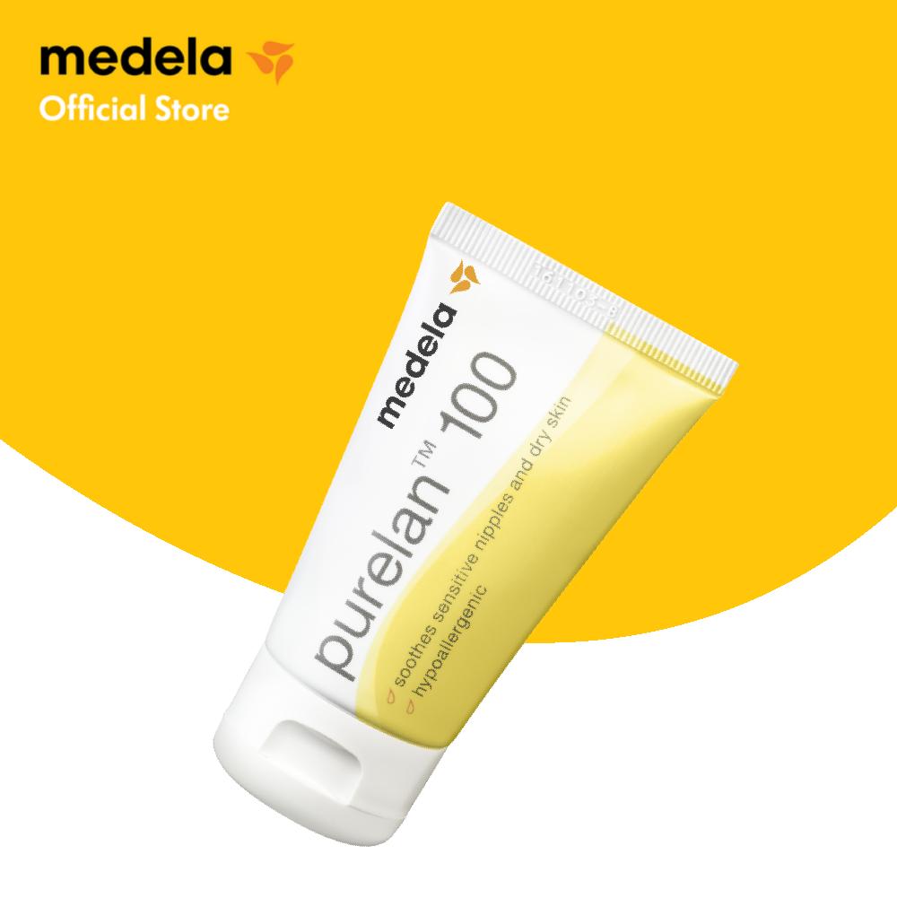 ครีมทาหัวนม | Medela Purelan Nipple Cream(37g) - บรรเทาอาการหัวนมแตก ทาแล้วให้น้องดูดได้โดยไม่ต้องล้างออก ปลอดภัยต่อคุณแม่และลูกน้อย | Lanolin.