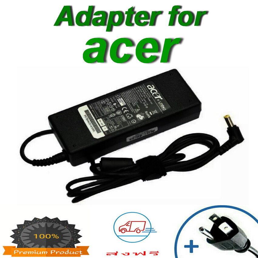 Acer Adapter 19v/4.74a 5.5 X 1.7mm (black) สายชาร์จโน๊ตบุ๊คราคาถูก สายชาร์จโน๊ตบุ๊ควัสดุคุณภาพดี ชาร์จโน๊ตบุ๊ค อะแดปเตอร์โน๊ตบุ๊ค สายชาร์ตโน๊ต.