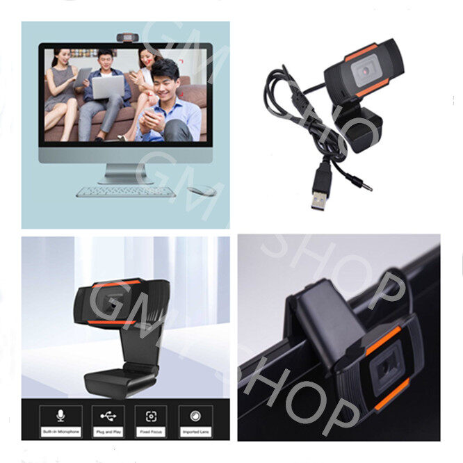 A870 Hd Webcam 720p Usb Camera Rotatable Video Recording Webcam With Microphone For Pc Computer For Online Learning.