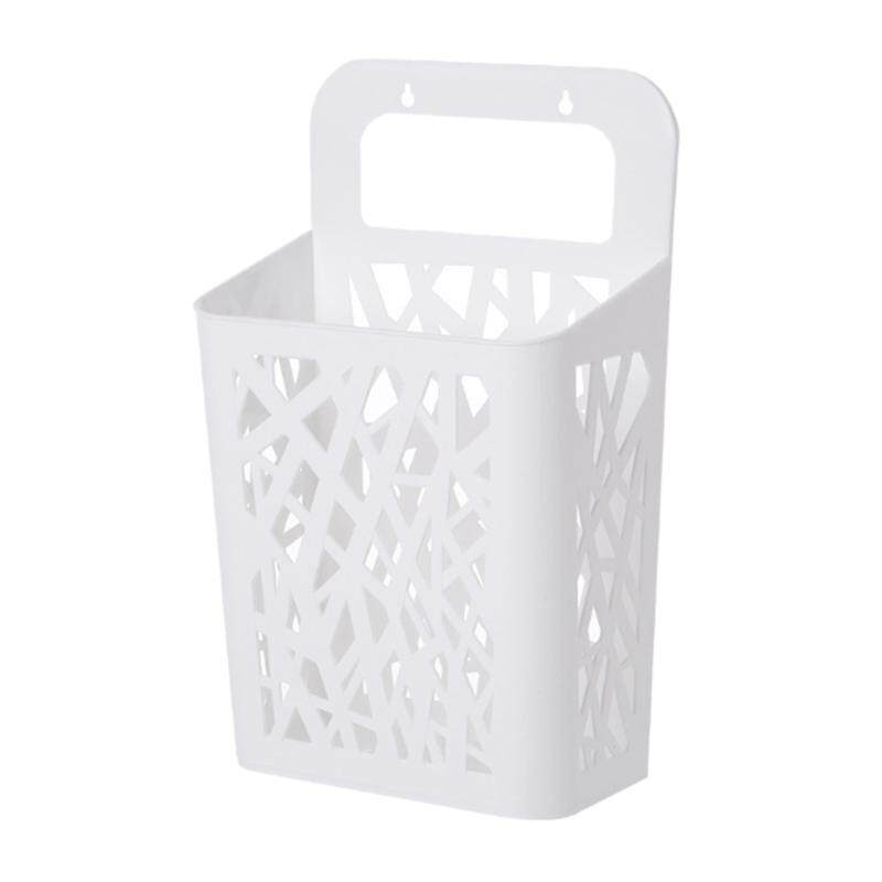 2Pack Storage Basket, Can Be Hanged with Handle, Convenient Hamper, Send Hook
