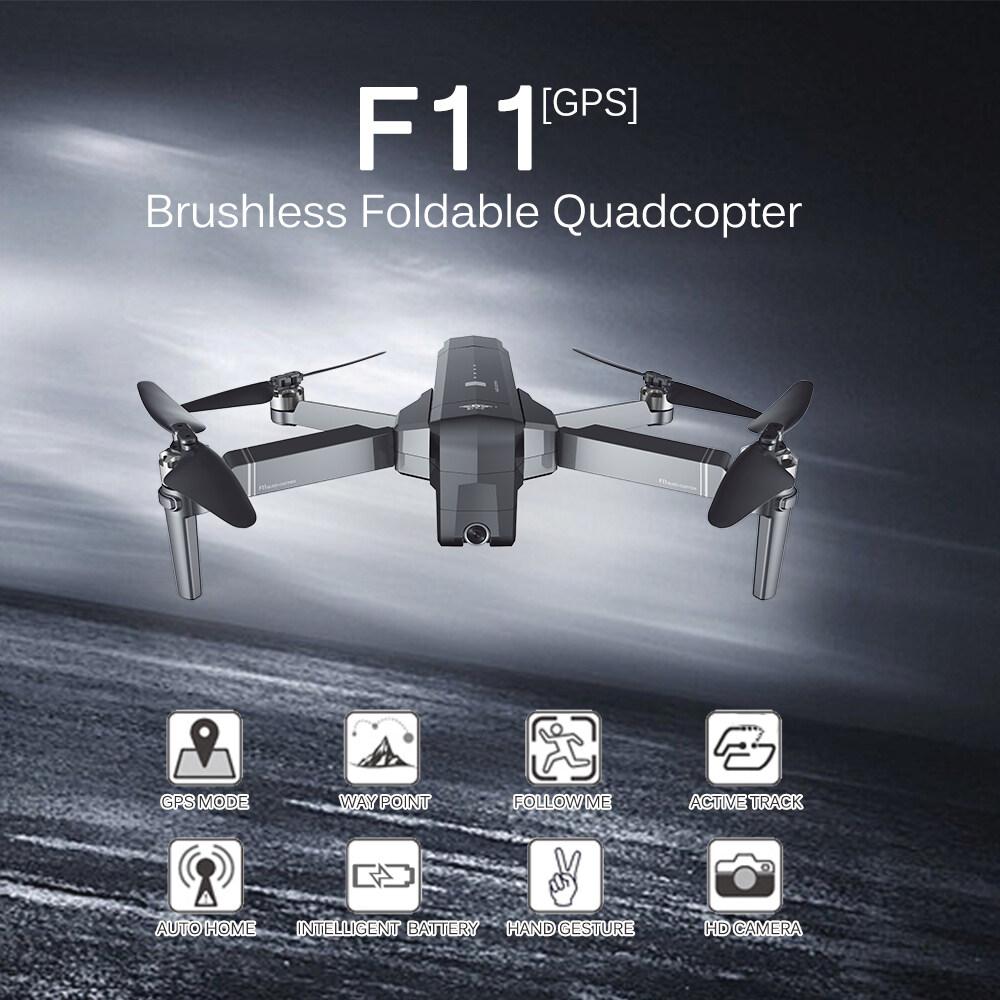 【โดรน Sjrc F11 F11 Pro】เครื่องบิน Sjrc F11 F11 Pro Wifi-Fpv Fhd1080p Camere Gps Drone Dji Mavie Clone.
