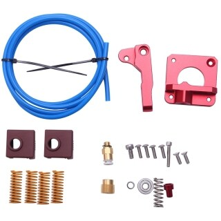 Cr10 Ender 3 Extruder for 3D Printer Accessories Cr10 Ender 3 Upgraded Version Extruder + Petg Tube + Spring + New Silicone Sleeve thumbnail