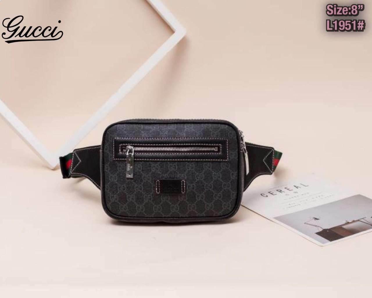 กระเป๋า Lv กับ Gucci  8นิ้วโดยประมาณ อุปกรณ์ที่ได้ ถุงผ้า การ์ด.