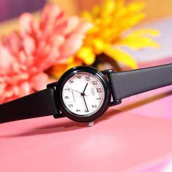 Casio นักเรียนเด็กนาฬิกาน่ารักแฟชั่นสีลูกอมควอตซ์นาฬิกาสตรีแฟชั่นเด็กหญิงเข็ม LQ-139L