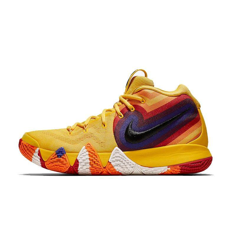 Nike_Kyrie 4 Sepatu Basket Pria Stabilitas Sejuk Anti Slip Kolam Sepatu Kets Olahraga untuk Pria