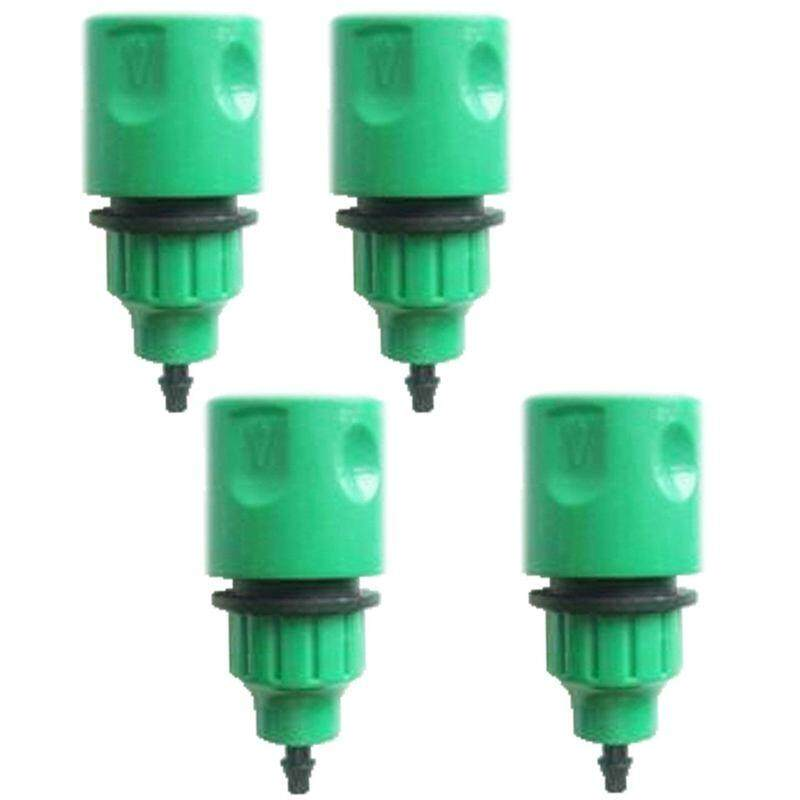 Garden Hose Pipe One Way Adapter Tap Connector Fitting For Irrigation 4-pack