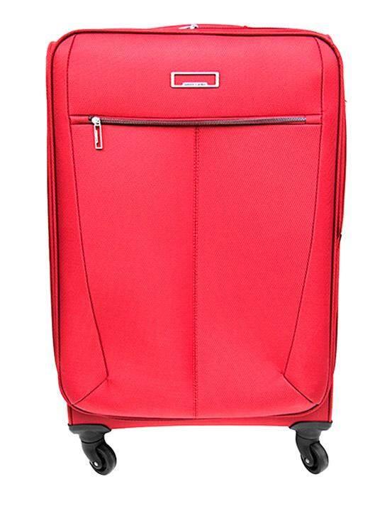 กระเป๋าเดินทางชนิดอ่อน 4 ล้อ รุ่น GTC-13067-N4 RE สีแดง ขนาด 28 นิ้ว