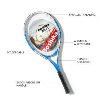 Aluminum Alloy Tennis Racket Lightweight Shockproof Tennis Racquet with Training Tennis Carry Bag and Tennis Grip thumbnail