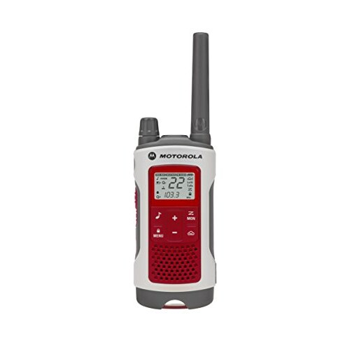 Motorola Talkabout T480 FRS//GMRS Two Way 22 Channel Radio Single Red White NEW