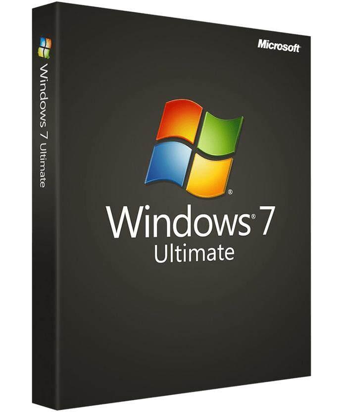Windows 7 Ultimate 32bit/64bit เฉพาะ Key แท้ ย้ายเครื่องได้ 1pc By Nanoshop Thailand.