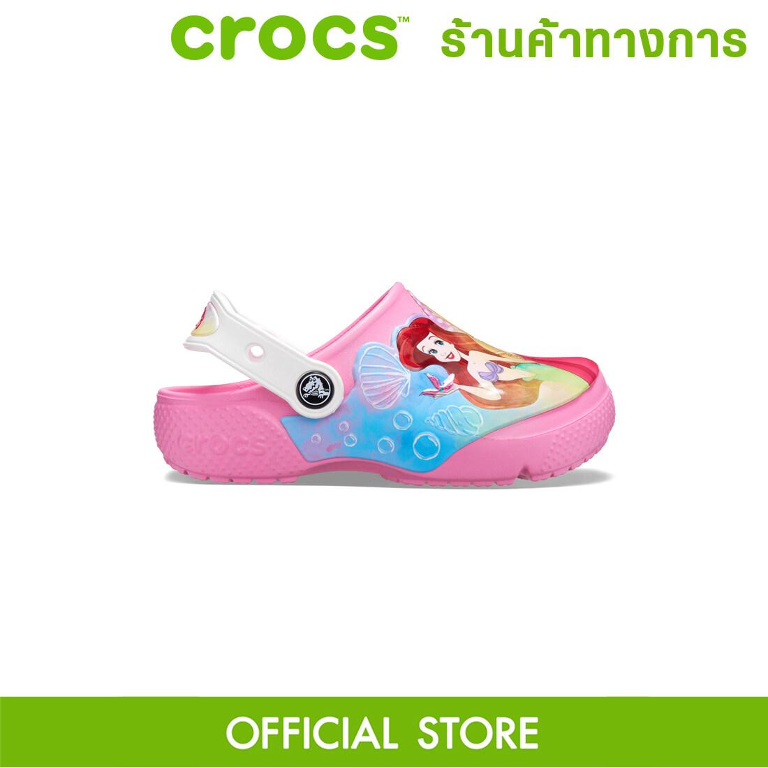 Crocs Fun Lab Disney Princess Clog รองเท้าลำลองเด็ก.