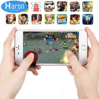 Haron 1Piece New Fling Mini Joystick Game Controller For All Touch Screen  Phone