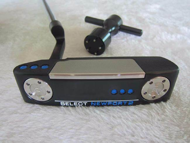 คูปอง Top Quality Golf Clubs Black Left Handed Newport 2 Forged Head Golf Putters With Shaft And Headcover 35 Inches