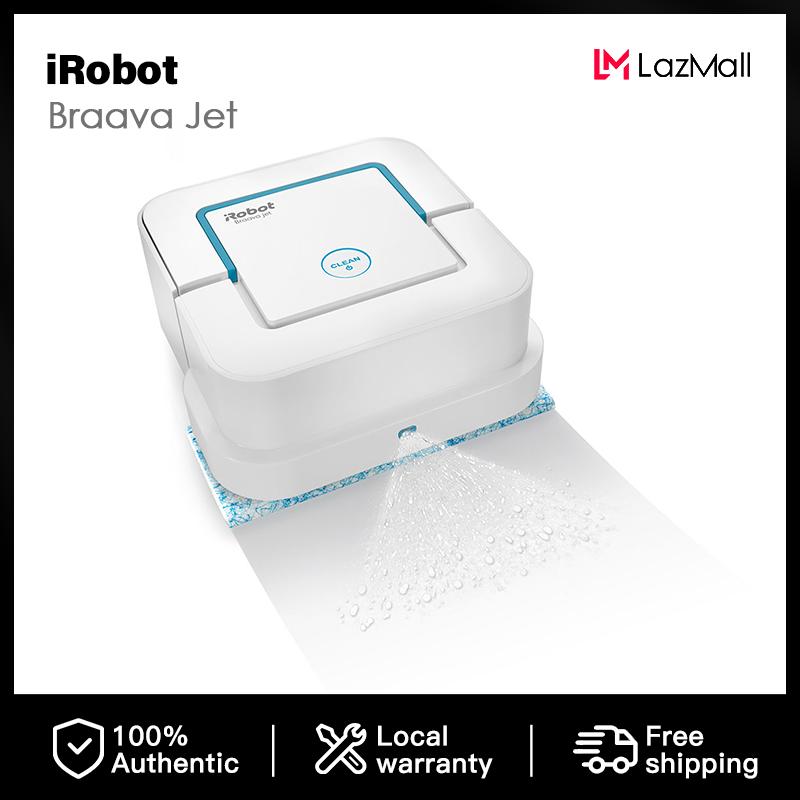 IRobot 240 Braava หุ่นยนต์ถูพื้น,B240,สีขาว