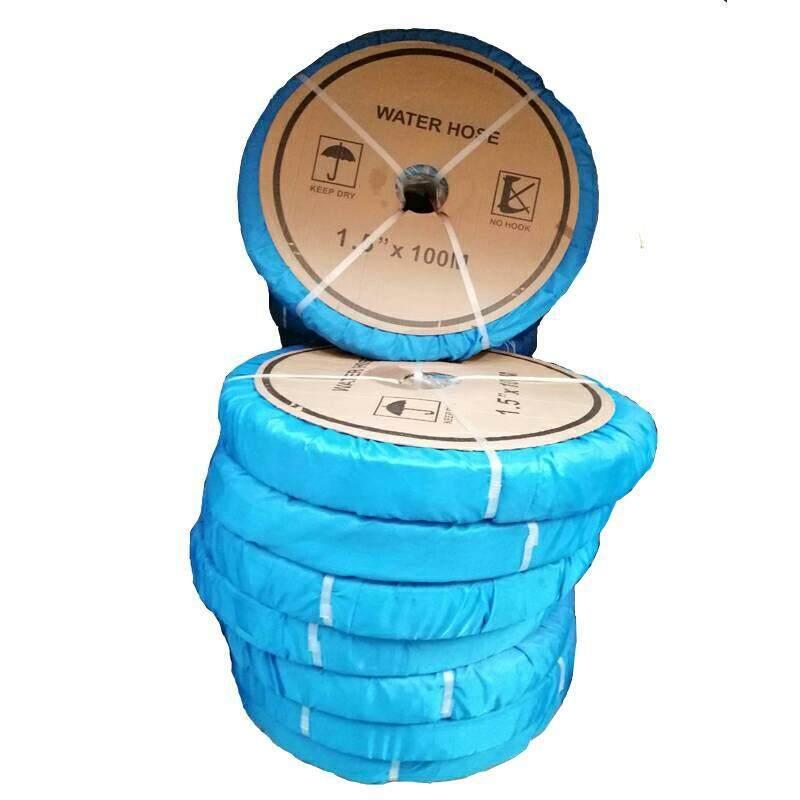 สายส่งน้ำ คามู่ย่า ผ้าใบ PVC ขนาด 1นิ้วครื่ง ยาว 20 50 100 เมตร