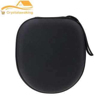 Headphone Earphone Case Headset Carry Pouch (Black)(Black) - intl