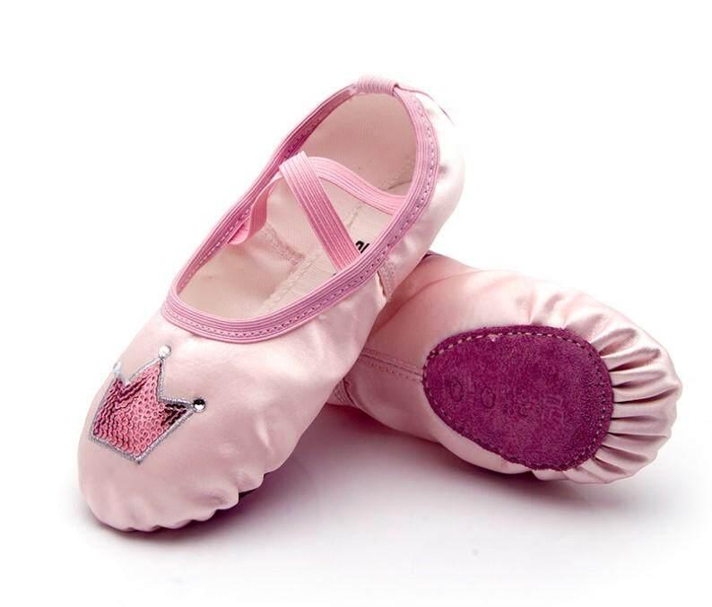 Cb ❤️สินค้าพร้อมส่ง❤️รองเท้าบัลเล่ต์ รองเท้าผ้า Demi Pointe (สีชมพู) รุ่น A54.