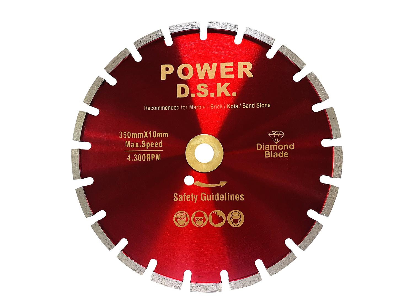 DSK ใบเพชรตัดจอยซ์ 14นิ้ว หนา10mm ตัดเข้าถึงชิ้นงานได้รวดเร็ว ฟรีค่าจัดส่ง
