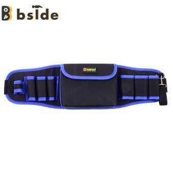 [Bside Tool Store] กันน้ำฟอร์ดผ้าช่างไฟฟ้าเครื่องมือเอวแพ็คการจัดเก็บกระเป๋าเครื่องมือ