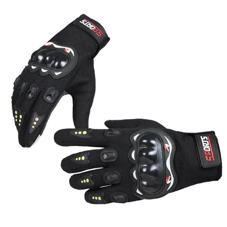รุ่นยอดนิยม Pro Biker Sports Gloves ถุงมือมอไซร์ ถุงมือ เต็มนิ้ว ขับขี่รถมอเตอร์ไซค์ และจักรยาน สะดวกทั้งตอนขี่ และ ตอนเล่นโทรศัพท์ ป้องกันการบาดเจ็บที่มือ สวมเต็มนิ้ว ปั่นจักรยาน ออกกำลังกาย ระบายอากาศดีเยี่ยม (ฟรีไซต์).