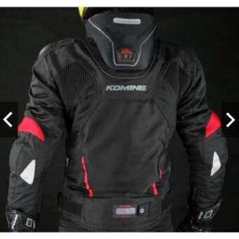 เสื้อการ์ด Komine JK-015 ไหล่ไทเทเนียม การ์ด 10 จุด อุปกรณ์สวมใส่สำหรับขับขี่ เสื้อแจ็คเก็ต ชุดขี่มอเตอร์ไซค์ bigbike-