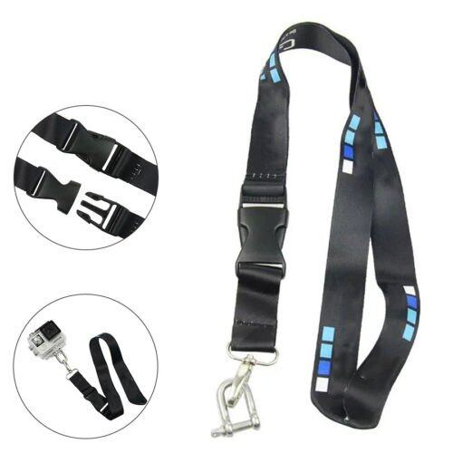 สายคล้องคอ สายห้อยคอ GOPRO HERO Neck Strap Lanyard Sling + U  Stainless Hook Accessries FOR GoPro