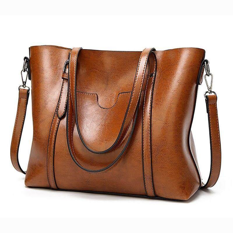 Womens Lady Leather Shoulder Bag Handbag Messenger Crossbody Satchel Tote Purse