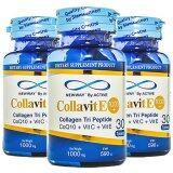 ราคา Active Newway Colla Vite 1000 Collagen Tri Peptide 30เม็ด 3 กระปุก เป็นต้นฉบับ Active